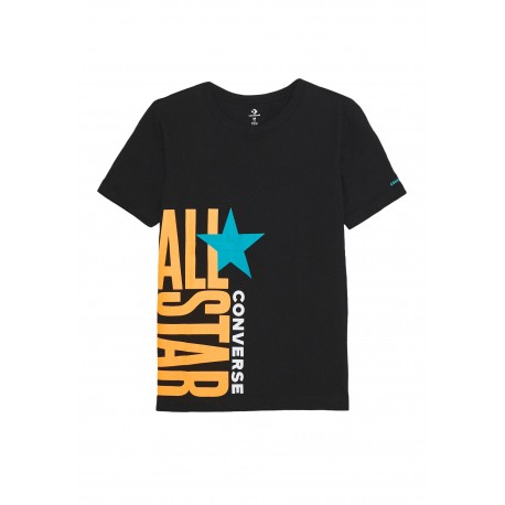 T SHIRT CONVERSE  STACKED - ENFANT